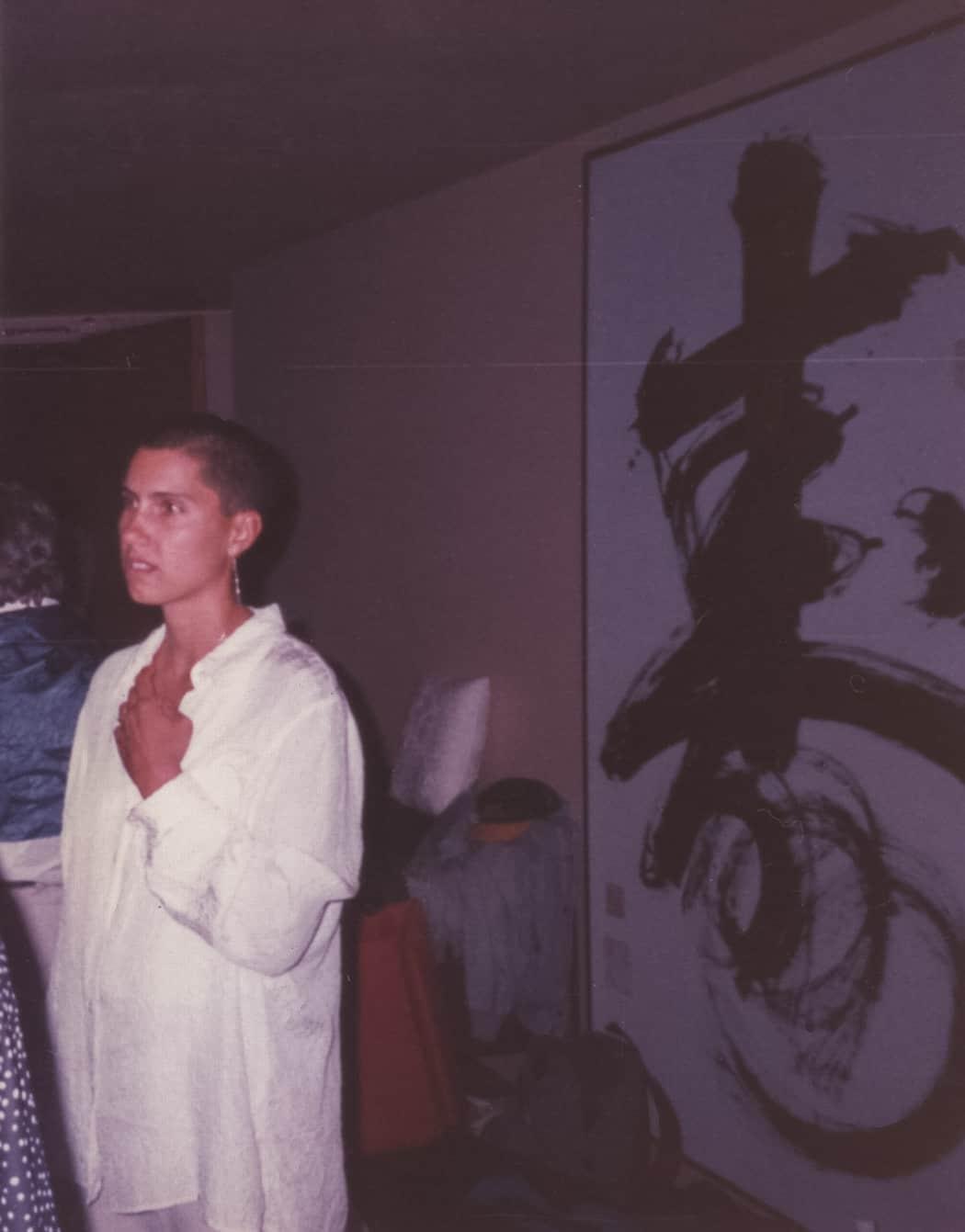 Lisa's first Silent Retreat with Gangaji,  Crestone 1997